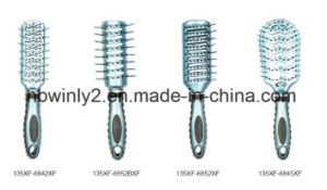 Blue Color Mini Professional Hairbrush pictures & photos