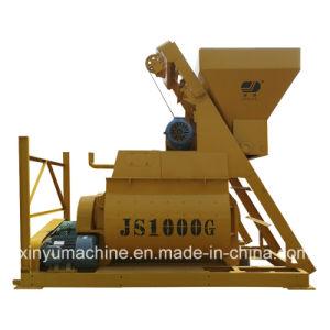 Twin Shaft Compulsory Concrete Mixer (JS1000) pictures & photos