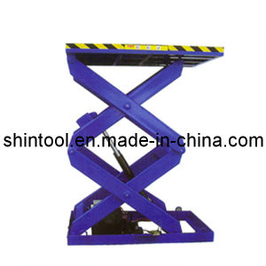 Scissor Car Lift 5t Sjg5-1.5 Double Cross (Customizable) pictures & photos