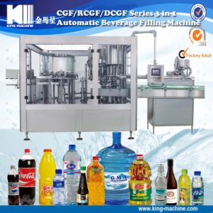Automatic Cgf 18-18-6 Three in One Liquid Beverage Filling Machine Manufacturer pictures & photos