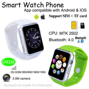 Smart Mobile Watch Compatible with Android and Ios (GM18S) pictures & photos