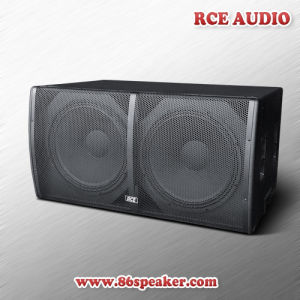 "Rce PRO Audio Dual 18"" PA Subwoofer Speaker Sub Bass Painted Finish"