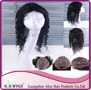 Unprocessed 100% Brazilian Virgin Human Hair Full Lace Wig pictures & photos