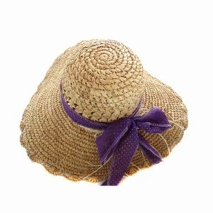 High Quality Ladies Straw Hats Wholesale (GKA01-Q0120) pictures & photos