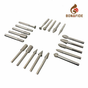 20PS Wooden Box Vacuum Brazed Diamond Burrs Set Carving Tools pictures & photos