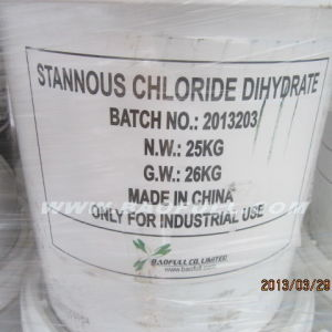 Stannous Chloride Sncl2.2H2O Supplier pictures & photos