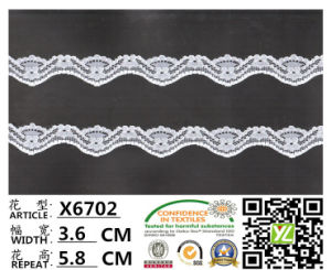 Elastic Lycra Elastic Lace (OEKO-TEX 100 certification)