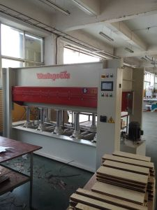 160t Hot Press Machine (BY214X8/16(3) H1RC (S) pictures & photos