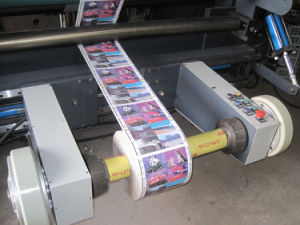Rtfq-1500bc Web Foil Sticker Label Paper Slitting Machine pictures & photos