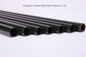 3k Roll Wrapping Carbon Fiber Pipe/Pole Carbon Fibre Tube pictures & photos