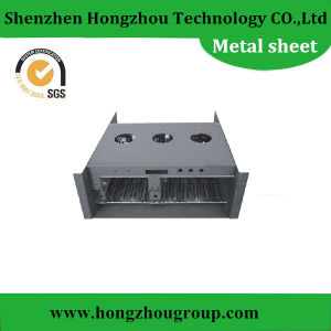 High Accuracy Aluminum Sheet Metal Brake Fabrication Laser Cutting Working pictures & photos