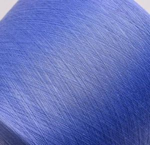 First Class Cationlic Yarn Dyed Ring Spun Polyester Yarn High Quality pictures & photos