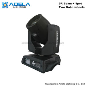 5R Moving Head Beam Spot Light Double Gobo Wheels pictures & photos