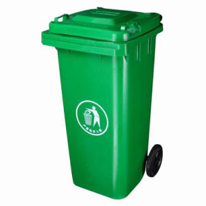 120L Plastic Wheelie Bins Fit with Garbage Truck (FS-80120A) pictures & photos