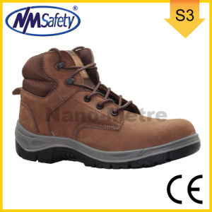 Nmsafety Nubuck Leather Safety Boots for Heavy Work pictures & photos