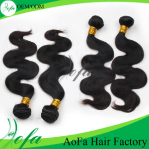 Aofa Factory Top Quality Grade 6A Virgin Remy Cuticle Hair pictures & photos
