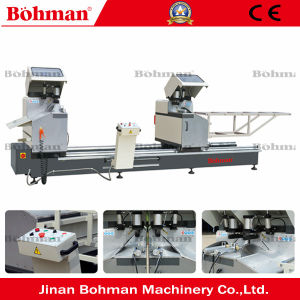 High Efficiency 45 Degree Double Miter Saw for Profiles Cutting pictures & photos