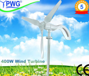Vawt Vertical Axis Wind Turbine Mini Generator High Efficiency Wind Turbine System 400W pictures & photos