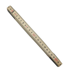 Wood Folding Ruler in Mertic pictures & photos