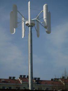 Vertical Axis Wind Turbine Generator/Alternator pictures & photos