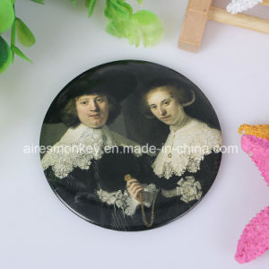Cheap Tin Pocket Mirror Small Advertising Promotion Mirrors (customized) pictures & photos
