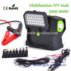 24V Multifunction 300mAh (85.47Wh) Truck Jumpstarter pictures & photos