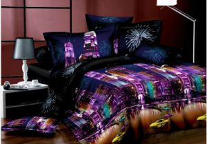 Wholesale 100 Cotton 3D Camo Bedding Set pictures & photos