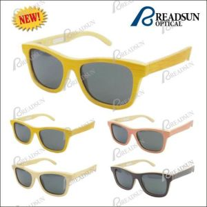 Fashion Polarized Wooden Sunglasses (SW777010) pictures & photos
