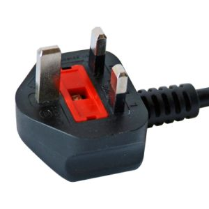 OEM Bsi Approved 3pins Power Cord with C13 Connector pictures & photos