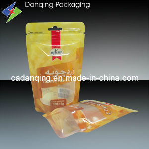 Plastic Stand up Zipper Pouch with Window (DQ0064) pictures & photos