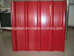 Galvaume Corrugated Prepainted Steel Sheet pictures & photos