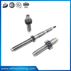 OEM Forged Alloy Steel Worm Gear Transmission Drive Shaft pictures & photos