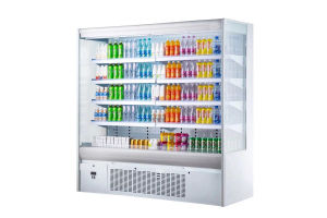 2.5m Upright Showcase Fridge for Food Service pictures & photos