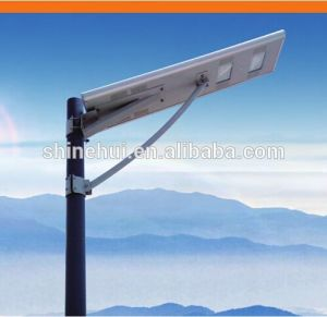 IP65 5W-100W Integrated LED Solar Street Sensor Light with Remote Control for Garden pictures & photos
