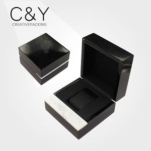 Custom High Gloss Luxury Marble Wooden Wrist Watch Packaging Box pictures & photos