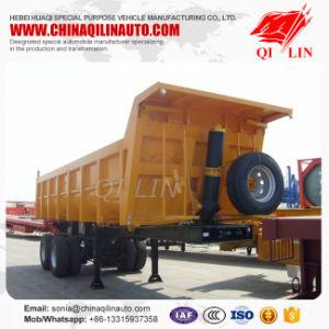 2 Axle 20cbm 30ton-50ton Cargo Truck Tipper Semi Trailer pictures & photos
