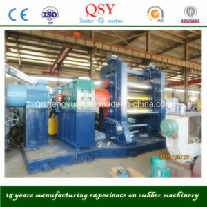 Three Roll Rubber Calender Machine/Rubber Sheet Making Machine pictures & photos