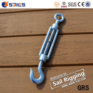 Drop Forged Galvanized Standard DIN1480 Turnbuckle with Hook and Eye pictures & photos