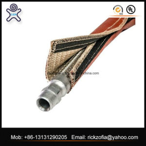 Fiberglass Material and High Voltage Application Silicone Rubber Cable Sleeve pictures & photos