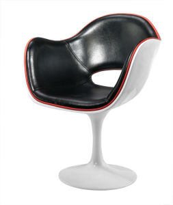 FRP White with Black Bar Chairs with Coffee Chair pictures & photos