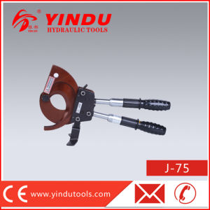 Steel Wire Rope Ratchet Cutter (J-75) pictures & photos