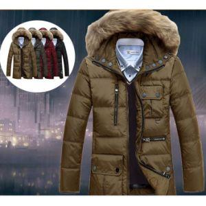 Warm 90% Duck Down Jacket Men Outwear Waterproof Winter Coat pictures & photos