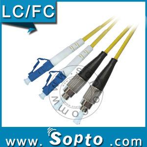 LC Sc FC St APC Duplex Sm Fiber Jumper (SPP-LC-SC/FC/ST-A-DS-XX-X)