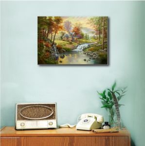 100% Handmade Canvas Oil Painting-Classical Landscape pictures & photos