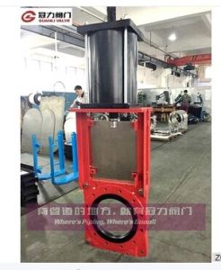 Slurry Knife Gate Valve for Mine pictures & photos