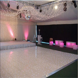Popular Western LED Dance Floor Twinkling Star Wedding Decoration pictures & photos