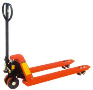 High Quality 4000kg Heavy Duty Hand Pallet Truck (DF PUMP) pictures & photos
