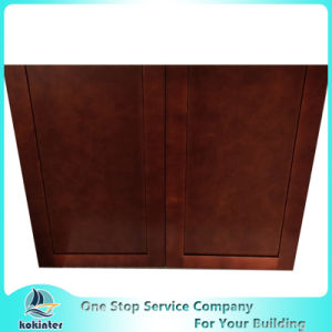 American Style Kitchen Cabinet Cherry Shaker W3640 pictures & photos
