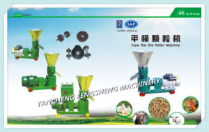 Kl Animal & Poultry Feed Flate Die Pellet Mill Machine pictures & photos