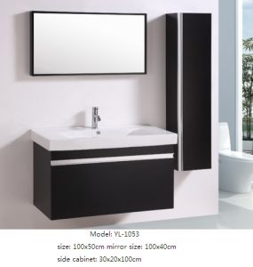 Wall Mounted Bathroom Furniture with Ceramic Basin pictures & photos